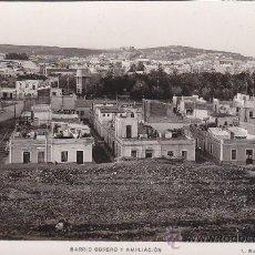 Postales: BARRIO OBRERO Y AMPLIACION: MELILLA: BONITA POSTAL SIN USAR Nº 58 L. ROISIN FOTOGRAFO.. Lote 15720132