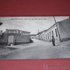 Postales: ISLAS CHAFARINAS.VISTA DE UNA CALLE DE LA ISLA,EDC, BOIX HNOS-MELILLA.14X9 CM.. Lote 15955972
