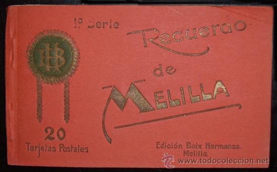 LIBRO 20 TARJETAS POSTALES DE MELILLA. EDICIÓN BOIX HERMANOS (C.1910) (Postales - España - Melilla Antigua (hasta 1939))