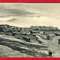 Cartoline: MELILLA , CHAFARINAS , VISTA GENERAL DESDE TRIANA , P32.675. Lote 16014931