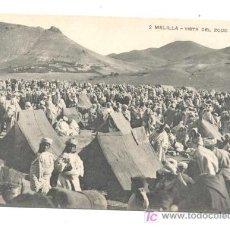 Postales: POSTAL DE MELILLA, NUM 2, VISTA DEL ZOCO EL GEMIS 14X9, FECHADA 30.12.1914. Lote 35183286
