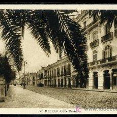 Postales: TARJETA POSTAL DE MELILLA Nº 27. CALLE MARINA. FOTO L. ROISIN. Lote 24855432