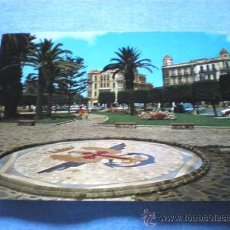 Postales: POSTAL MELILLA PLAZA DE ESPAÑA ESCUDO CUERPO EJERCITO CIRCULADA. Lote 17192161