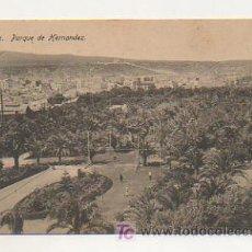 Postales: MELILLA. PARQUE DE HERNANDEZ. (ED. BOIX HERMANOS). Lote 17216679