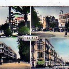 Postales: POSTAL MELILLA VARIAS VISTAS . Lote 17481461