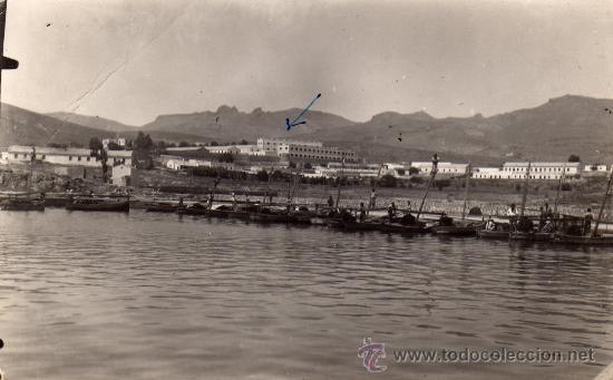 BONITA FOTO DE ¿MELILLA ?,AÑO 1945.VISTA GENERAL (Postales - España - Melilla Moderna (desde 1940))
