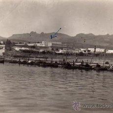 Postales: BONITA FOTO DE ¿MELILLA ?,AÑO 1945.VISTA GENERAL. Lote 20172805