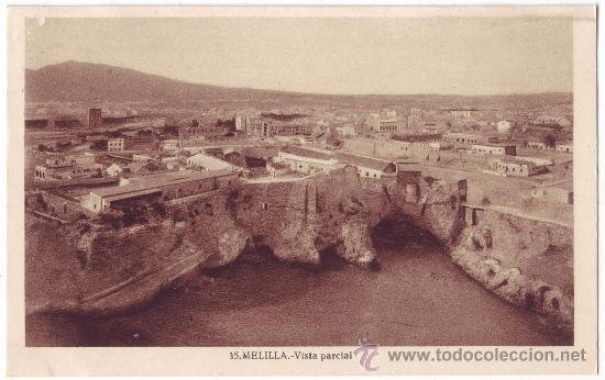 MELILLA: VISTA PARCIAL. L. ROISIN. NO CIRCULADA (AÑOS 30) (Postales - España - Melilla Antigua (hasta 1939))