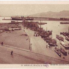 Postales: MELILLA: MUELLES DE RIBERA. L. ROISIN. NO CIRCULADA (AÑOS 30). Lote 26841203