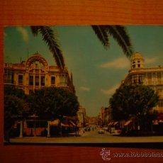 Postales: POSTAL MELILLA AVENIDA GENERALISIMO ESCRITA. Lote 18785716