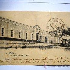 Postales: POSTAL ANTIGUA MELILLA CUARTEL DE INFANTERÍA. CIRCULADA EL 06/02/1907 . Lote 26172063