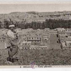 Postales: MELILLA. VISTA PARCIAL. L. ROISIN, FOT. SIN CIRCULAR. Lote 18892911