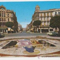 Postales: MELILLA PLAZA DE ESPAÑA AVENIDA GENERALISIMO. Lote 20729287
