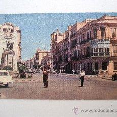 Postales: POSTAL DE MELILLA- AVENIDA. DETALLE (POSTAL AMERICANA, ESCRITA, SIN CIRCULAR, AÑOS 60 APROX). Lote 21961793