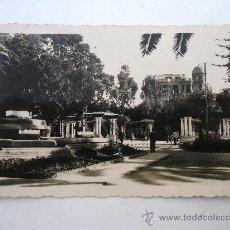Postales: POSTAL DE MELILLA - Nº10 - PARQUE HERNANDEZ.DETALLE (SIN CIRCULAR, EDIT. RAFAEL BOIX, AÑOS 50 APROX). Lote 21961898