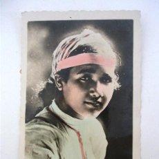 Postales: POSTAL DE MELILLA - Nº35 - MORITA ATENTA (SIN CIRCULAR, EDIT. RAFAEL BOIX). Lote 21961956