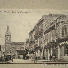 Postales: POSTAL ANTIGUA MELILLA CALLE DE CANALEJAS.. Lote 25474930