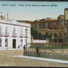 Postales: POSTAL MELILLA PUEBLO ANTIGUO PLAZA ALGIBES GOBIERNO MILITAR . BOIX HERMANOS CA AÑO 1920.. Lote 22596596