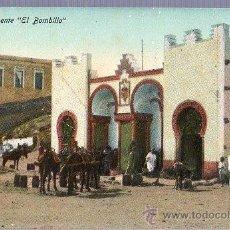 Postales: TARJETA POSTAL DE MELILLA. FUENTE EL BOMBILLO.. Lote 23716447