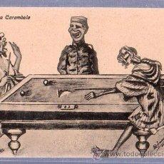 Cartoline: TARJETA POSTAL MELILLA - LA PRIMERA CARAMBOLA. Lote 25064653