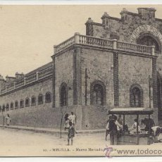 Postales: MELILLA NUEVO MERCADO PUBLICO PHOTO ALBERT Nº 10 POSTAL ANTIGUA. Lote 25265451