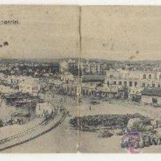 Postales: MELILLA PASEO DEL GENERAL MACIAS Y VISTA PARCIAL PHOTO ALBERT Nº 10 POSTAL ANTIGUA. Lote 25265629