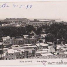 Postales: MELILLA VISTA PARCIAL,FOTO IMPERIO. Lote 25269500
