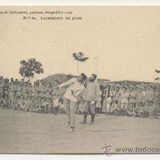 Postales: 62. LANZAMIENTO DE PILUM ACADEMIA DE INFANTERIA GABINETE FOTOGRAFICO 1912 PELAEZ. Lote 25276033
