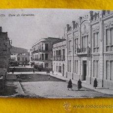 Postales: ANTIGUA POSTAL : CALLE DE CERVANTES - MELILLA. ED BOIX HERMANOS. Lote 28496473