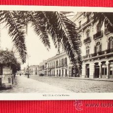 Postales: MELILLA - CALLE MARINA. Lote 28855498