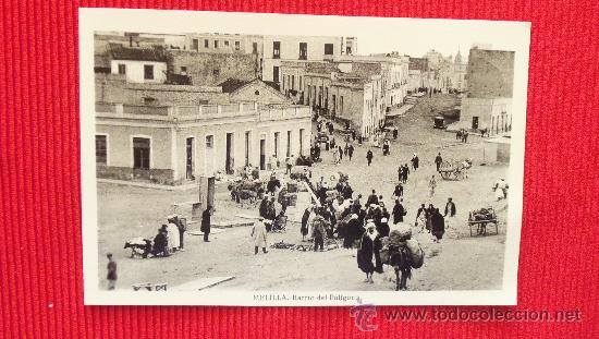 MELILLA - BARRIO DEL POLIGONO (Postales - España - Melilla Antigua (hasta 1939))