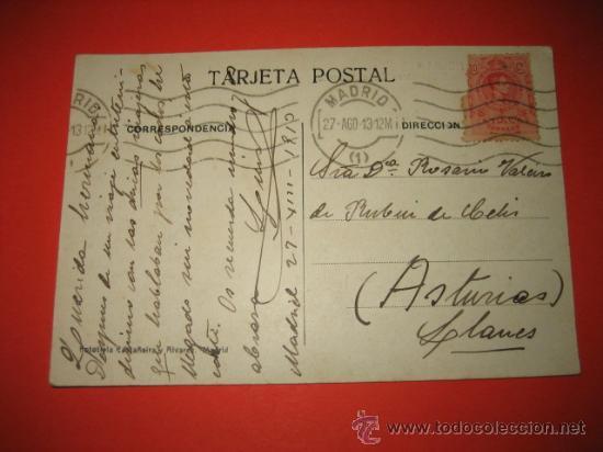 Postales: MELILLA CARRETERA BUEN ACUERDO CIRCULADA 1913 - Foto 2 - 29150114