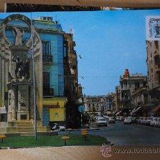 Postales: POSTAL DE MELILLA. AVENIDA DEL GENERALISIMO. MONUMENTO DE LOS HEROES DE ESPAÑA.. Lote 29275984