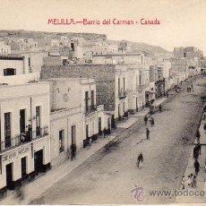 Postales: MELILLA.- BARRIO DEL CARMEN - CANADA.- EDICIÓN LUIS HERRERA.-. Lote 29294138