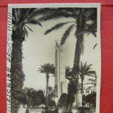 Postales: MELILLA - MONUMENTOS A LOS HÉROES - 1952. Lote 29300712