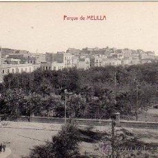 Postales: MELILLA.- PARQUE.- EDICIÓN LUIS HERRERA.-. Lote 29905951