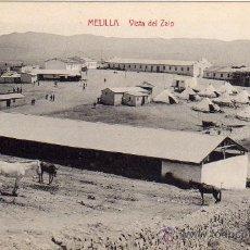 Postales: MELILLA.- VISTA DEL ZAIO.- EDICIÓN LUIS HERRERA.-. Lote 29906002