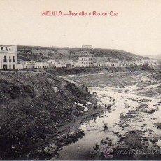Postales: MELILLA.- TESORILLO Y RIO DE ORO.- EDICIÓN LUIS HERRERA.-. Lote 29906023
