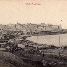 Postales: MELILLA.- PUERTO.- EDICIÓN LUIS HERRERA.-. Lote 29906058
