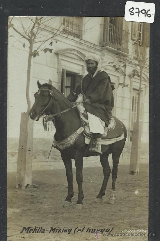MELILLA - MIZIAY EL BUENO - FOTOGRAFICA - (8796) (Postales - España - Melilla Antigua (hasta 1939))