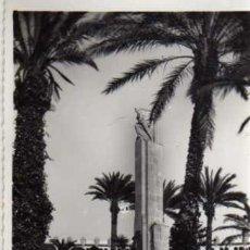 Postales: POSTAL - MELILLA - MONUMENTO A LOS CAIDOS - ED. BOIX HERMANOS. Lote 30571298