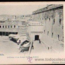 Postales: TARJETA POSTAL DE MELILLA - ENTRADA A LA PLAZA POR LA MARINA. 4. FOTOTIPIA LACOSTE. Lote 31007742