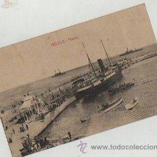 Postales: POSTAL ANTIGUA PUERTO MELILLA SIN CIRCULAR EDICION BOIX HERMANOS. Lote 31373481