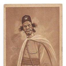 Cartes Postales: MELILLA. INDÍGENA DE CABALLERÍA. (ED. D. MULLOR). 1921. . Lote 31751052