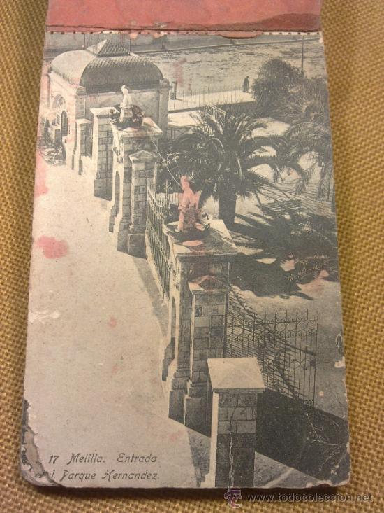 Postales: 20 Postales Recuerdo de Melilla Edición Boix Hermanos IIª Serie - Foto 3 - 32615103