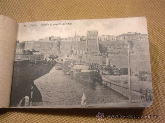Postales: 20 Postales Recuerdo de Melilla Edición Boix Hermanos IIª Serie - Foto 5 - 32615103