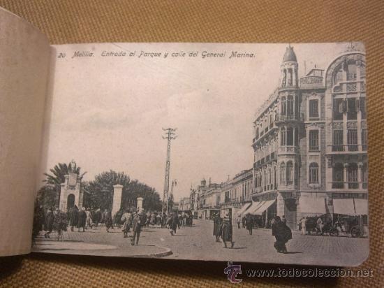Postales: 20 Postales Recuerdo de Melilla Edición Boix Hermanos IIª Serie - Foto 6 - 32615103