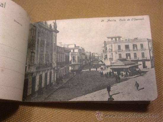 Postales: 20 Postales Recuerdo de Melilla Edición Boix Hermanos IIª Serie - Foto 7 - 32615103