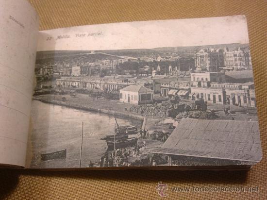 Postales: 20 Postales Recuerdo de Melilla Edición Boix Hermanos IIª Serie - Foto 8 - 32615103