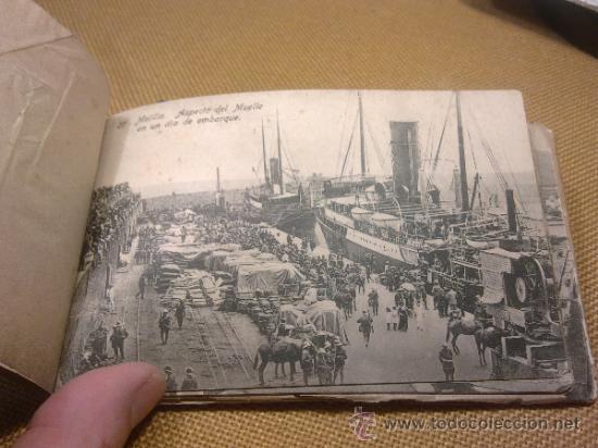 Postales: 20 Postales Recuerdo de Melilla Edición Boix Hermanos IIª Serie - Foto 13 - 32615103